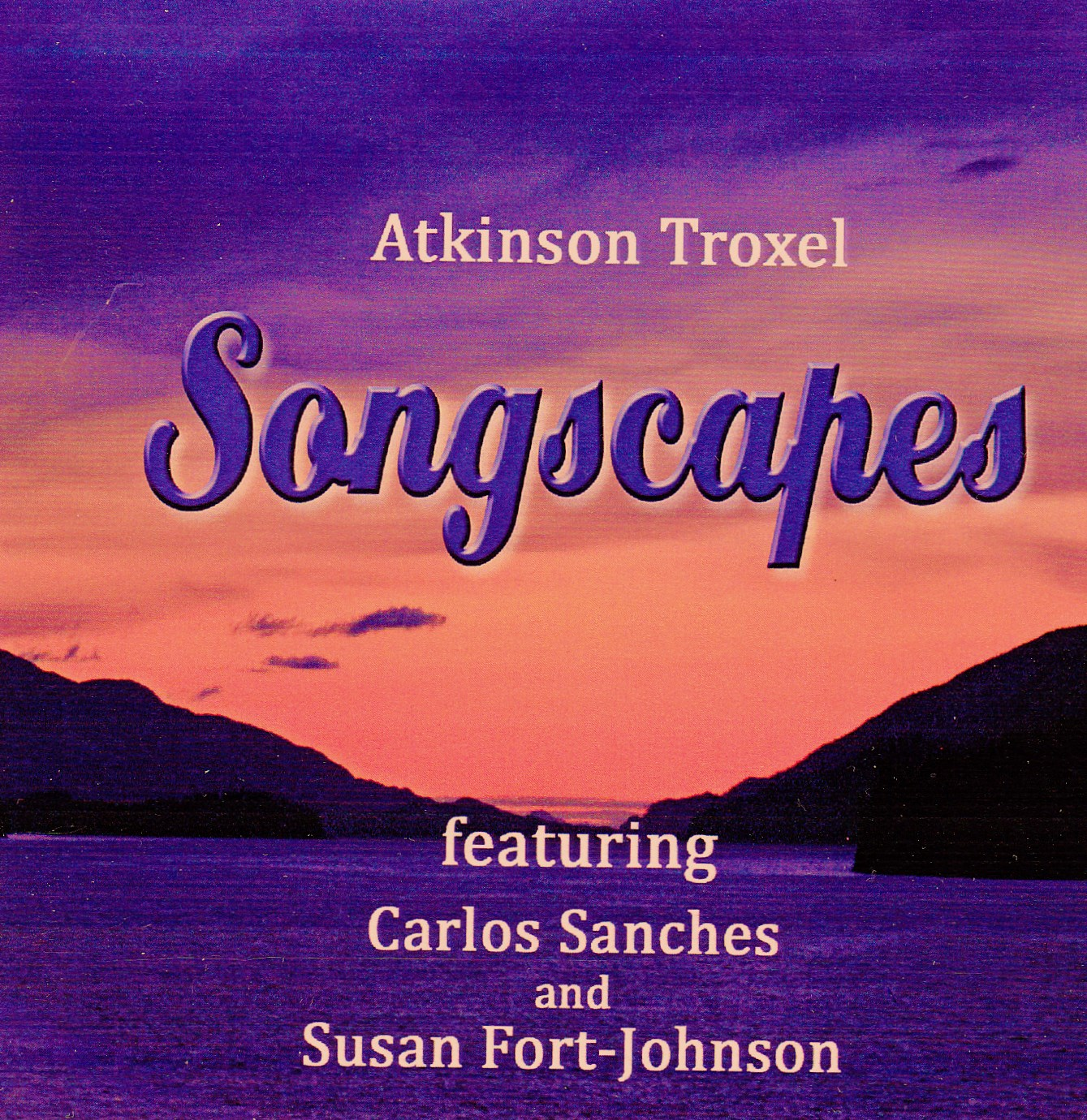 Songscapes CD cover